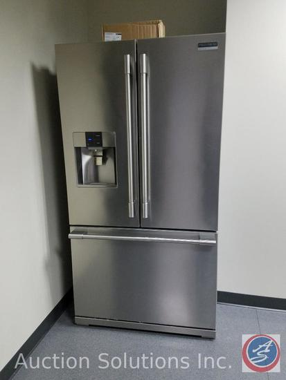"Frigidaire Professional 26.7 Cubic Feet French Door Refrigerator 36"" x 32"" x 69 7/8"" Model"