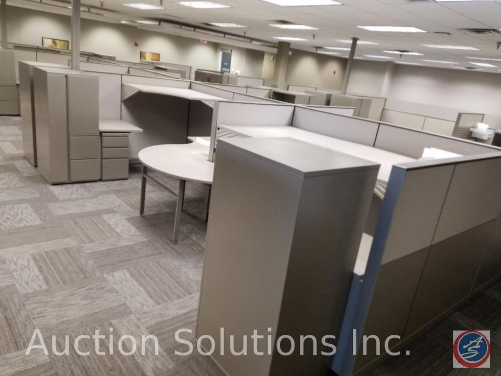 """26 Section of Partitions Measuring: 49 1/2"""" x 57"""", 8 Sections of Partitions Measuring 24 1/2"""" 57, 12"""