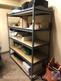 5 Tier Adjustable Storage Shelves Measuring 60