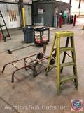 Hand Truck with Strap, 3ft. Husky Ladder