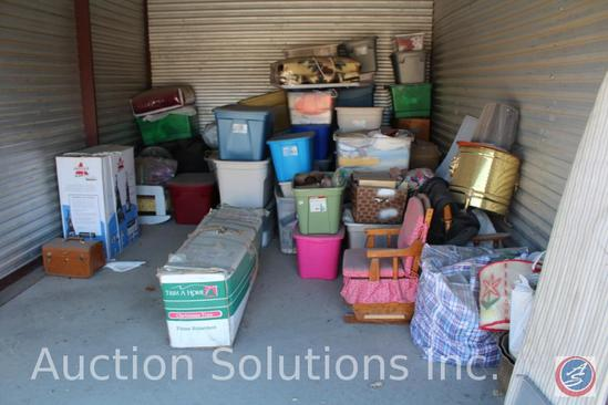 LOCATED IN DENSION, IA Complete Contents of [10' x 15'] Unit 19 A $100 Clean-Out Deposit will be