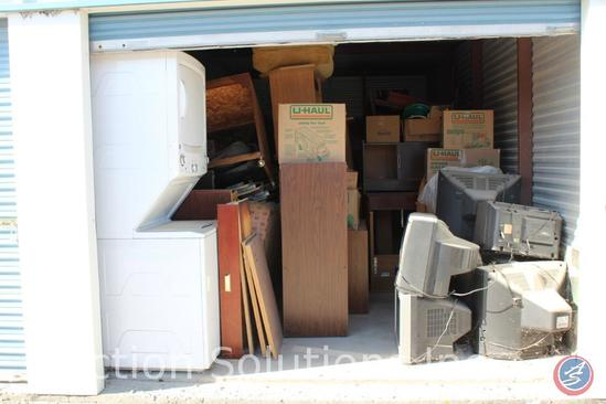 LOCATED IN DENSION, IA Complete Contents of [10' x 20'] Unit 81 A $100 Clean-Out Deposit will be