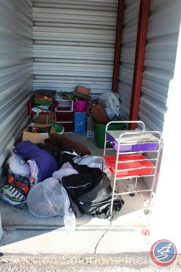 LOCATED IN COUNCIL BLUFFS, IA Complete Contents of [5' x 10'] Unit B10 A $100 Clean-Out Deposit will