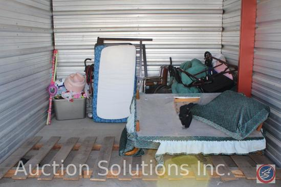 LOCATED IN COUNCIL BLUFFS, IA Complete Contents of [10' x 10'] Unit C09 A $100 Clean-Out Deposit