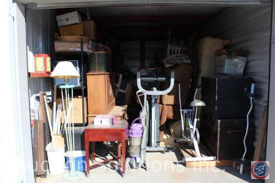 LOCATED IN COUNCIL BLUFFS, IA Complete Contents of [10' x 20'] Unit C24 A $100 Clean-Out Deposit