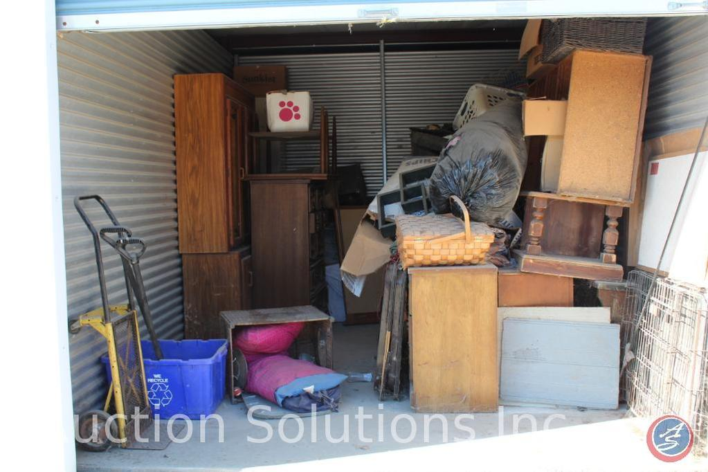 LOCATED IN DENSION, IA Complete Contents of [10' x 15'] Unit 117 A $100 Clean-Out Deposit will be