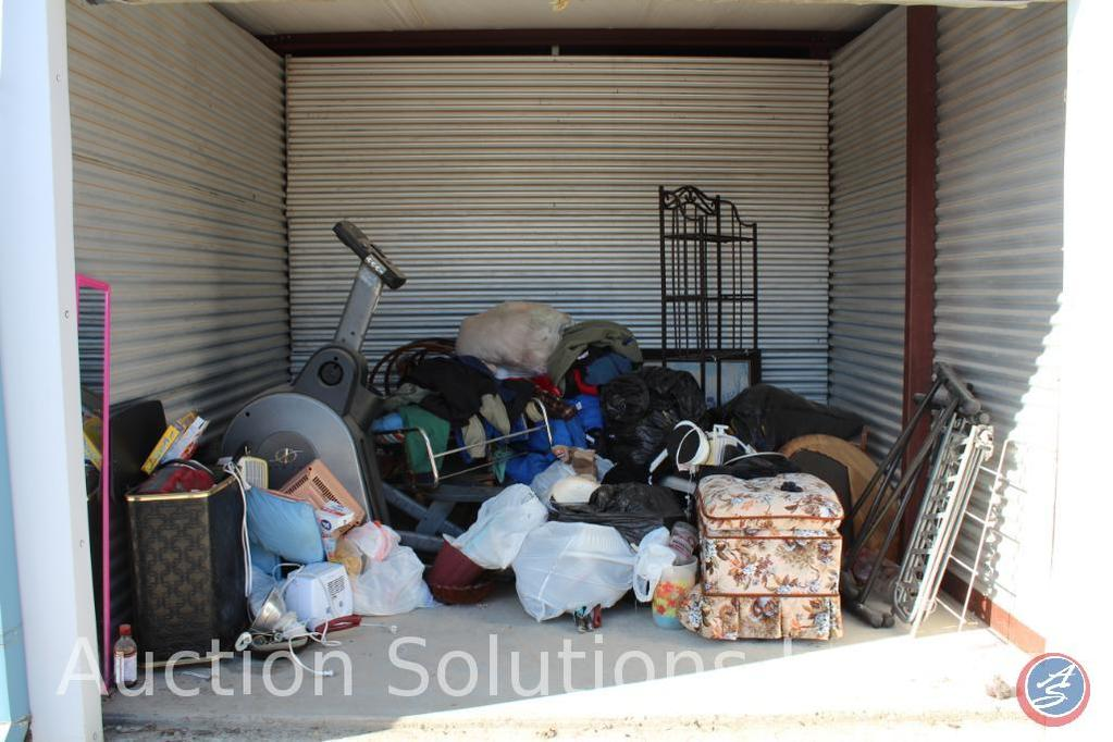 LOCATED IN DENSION, IA Complete Contents of [10' x 10'] Unit 127 A $100 Clean-Out Deposit will be