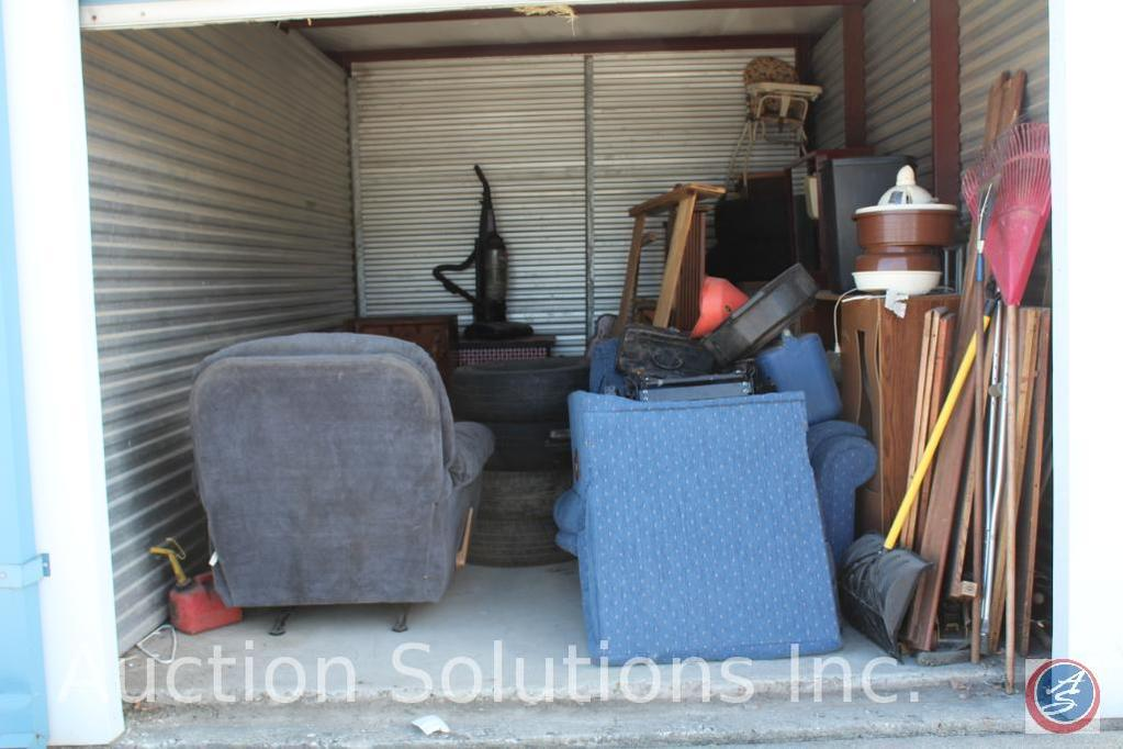 LOCATED IN DENSION, IA Complete Contents of [10' x 15'] Unit 147 A $100 Clean-Out Deposit will be