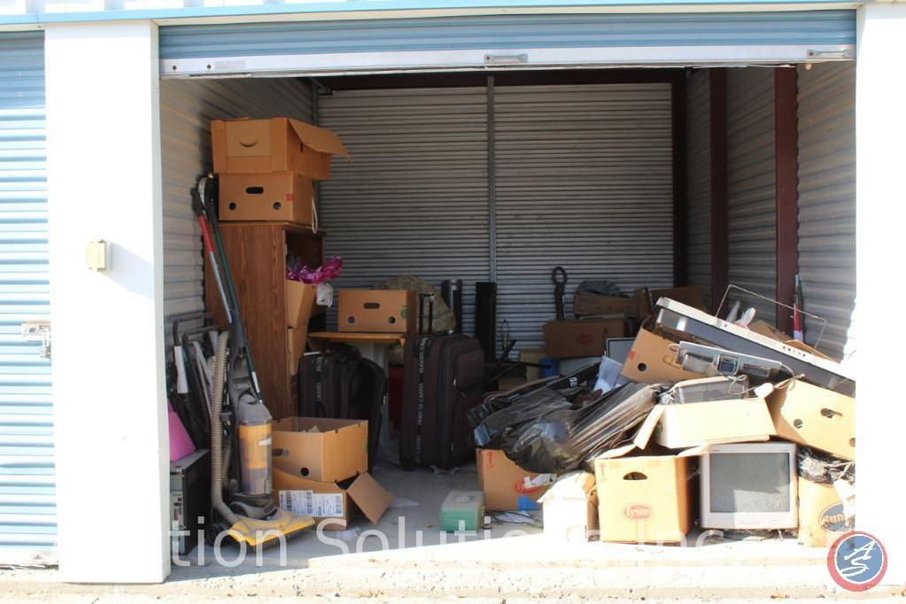 LOCATED IN DENSION, IA Complete Contents of [10' x 15'] Unit 70 A $100 Clean-Out Deposit will be