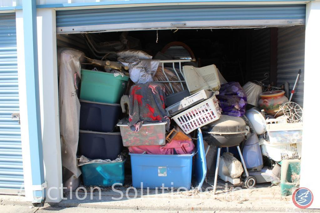 LOCATED IN DENSION, IA Complete Contents of [10' x 20'] Unit 86 A $100 Clean-Out Deposit will be