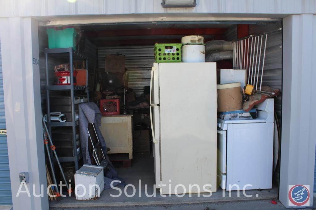 LOCATED IN COUNCIL BLUFFS, IA Complete Contents of [10' x 15'] Unit E04 A $100 Clean-Out Deposit