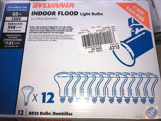 12 Pack of 65 W Indoor Flood Light Bulbs {{NEW IN PACKAGE}}