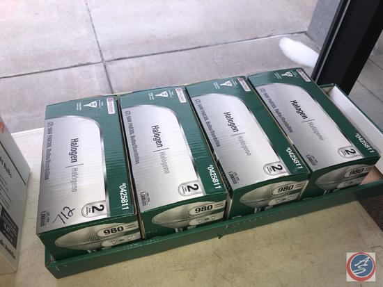 (4) 2 Packs Utilitech Halogen Bulbs