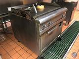 Hobart Electric Range Oven/Griddle Top on Casters CR42 3PH 480V 36
