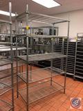 Amco NSF 5 Tier Wire Shelf 48