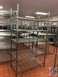 Amco NSF 4 Tier Wire Shelf 48
