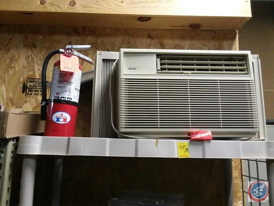 KenMore Window A/C Unit and Fire Extinguisher