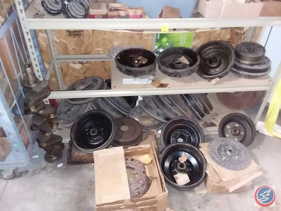 Brake + clutch discs from the 30's