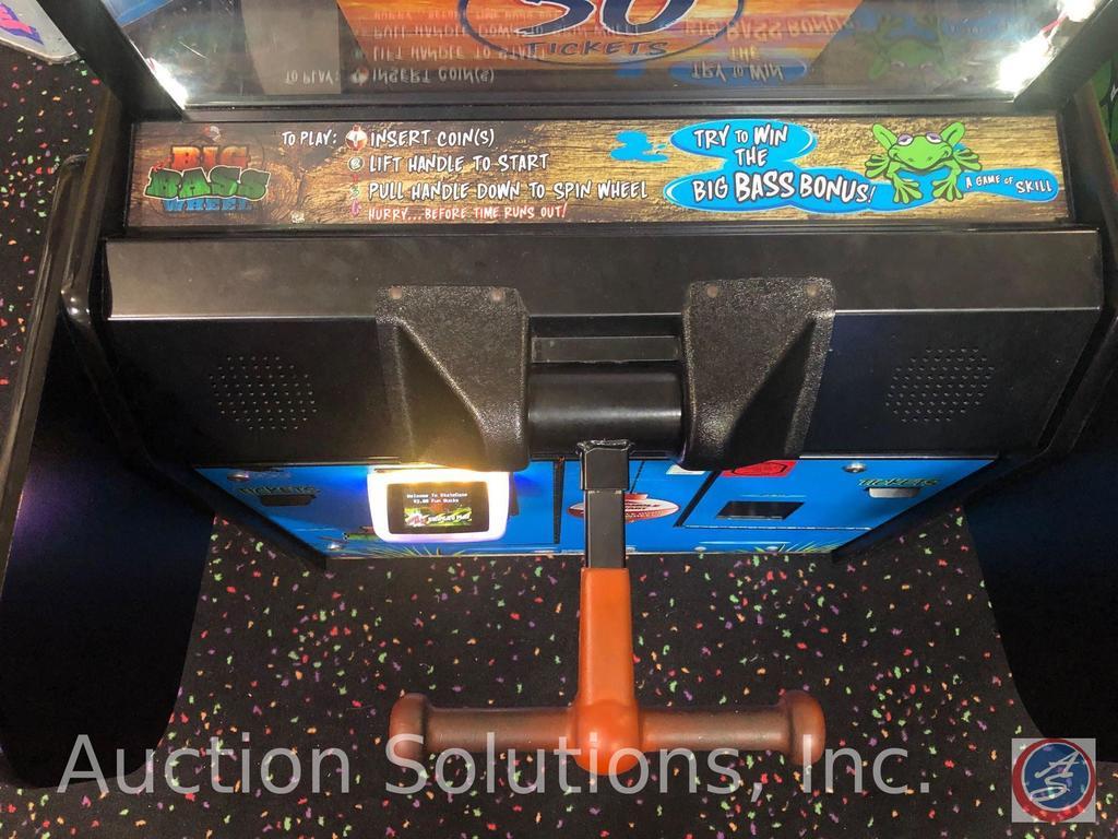 Lot: Big Bass Wheel Bay Tek Game Model AAGM-BBW6 Equipped w