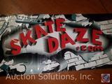 Skate Daze Vinyl Banner
