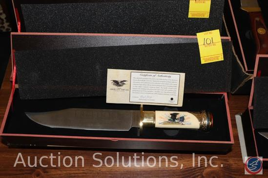 Freedom Collector's Knife with Certificate of Authenticity in Original Collector's Box