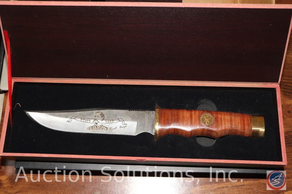Wyatt Earp Collector's Knife in Original Collector's Box