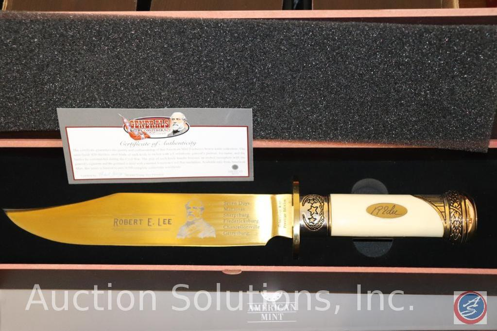 Robert E. Lee Collector's Knife with Certificate of Authenticity in Original Collector's Box