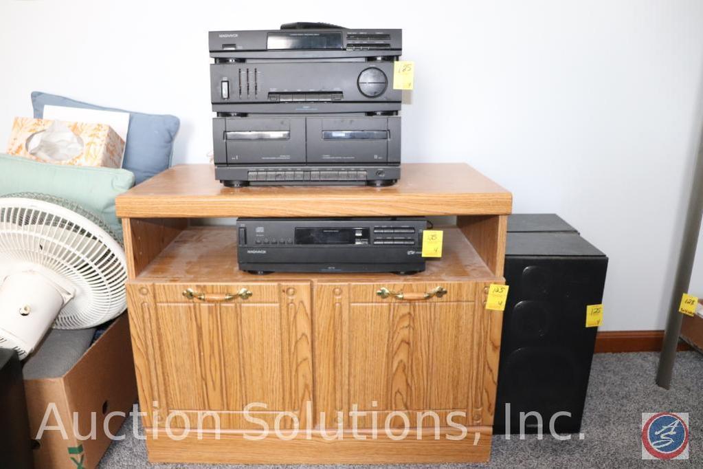 Magnavox AS401 High Power Stereo Hifi Amplifier, Magnavox AK730 Digital Compact Disc Changer