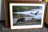 (4) Framed Prints