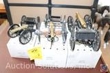 (3) Historic American Cannon Replicas