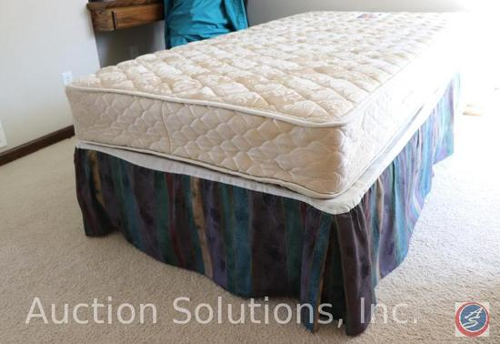 Twin Posturepedic Bed, Linens Included