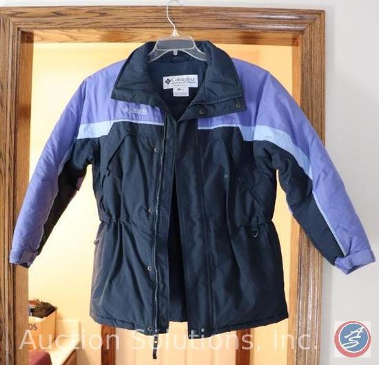[5] Size Large and X-Large Outerwear: Calvin Klein 44 Regular Wool, Nautica, Columbia Sportswear,
