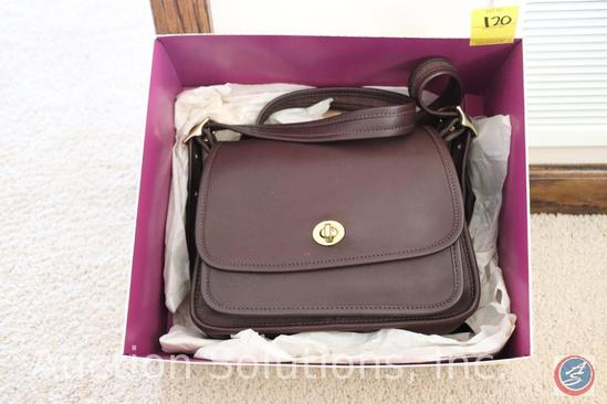 Brown Coach Purse {{NEW WITH TAGS}}