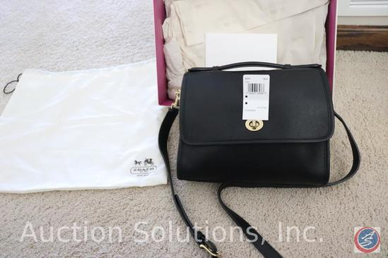 Black Coach Purse {{NEW WITH TAGS}}