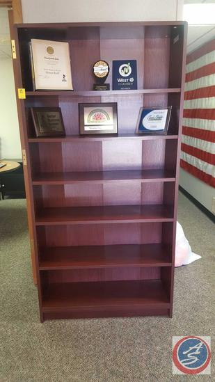 "6 Shelf Bookcase 36"" x 11 1/2"" x 72"