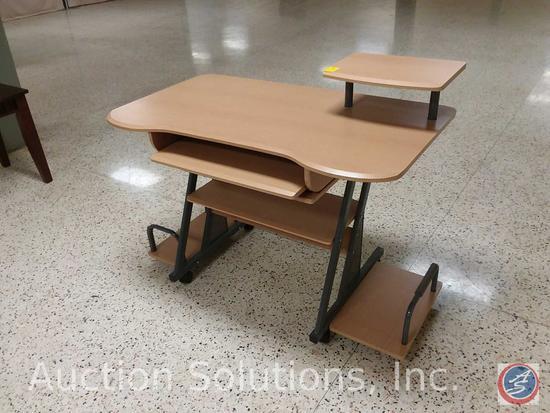 Contemporary Ergonomic Student Computer Desk (45 x 26 x 36 in.)