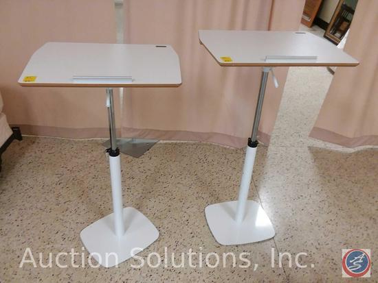 (2x$Bid) TCT Dynamic Workstations Adjustable Height and Angle G-5 Sit Stand Ergonomic Tilting Desks