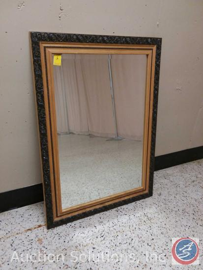 Decorative Wood Framed Wall Mirror (43.5 x 31.25 in.)