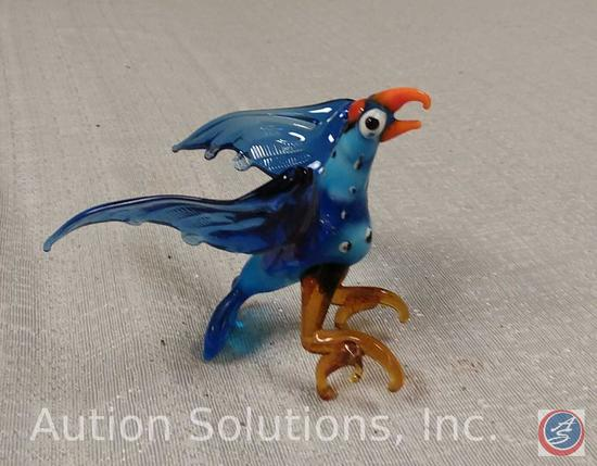Glass Bird 3 1/2''