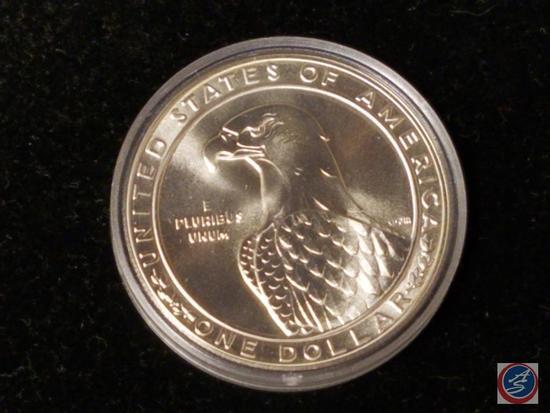 1983 23rd Olympiad Los Angeles Silver Dollar