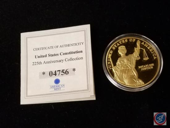 United States Constitution 225 Anniversary Collection Proof 'Establish Justice'