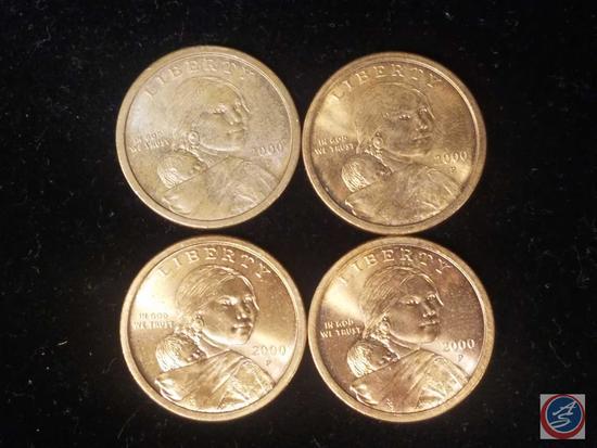 [4] Sacagawea Dollars 2000 P