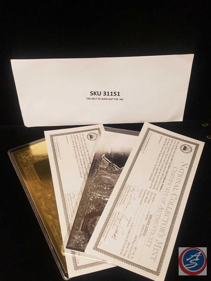 2017 National Collector's Mint Tribute Oversize Certificates