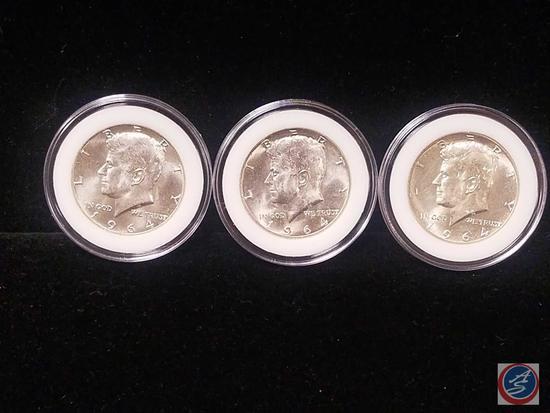 1964 Silver Kennedy Half Dollars