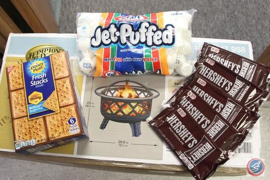 Fire Pit and S'Mores Kit