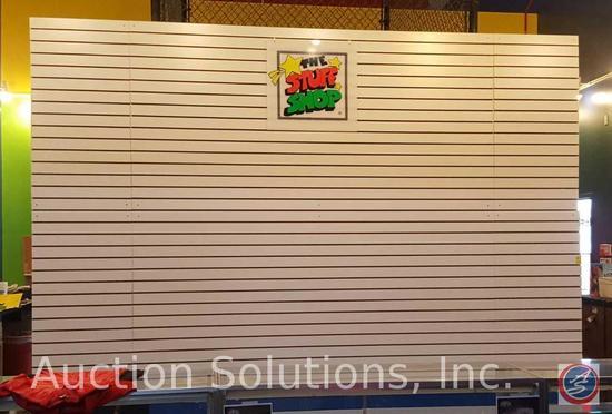 """Slat Wall Hanger Board 144"""" x 96"""""""