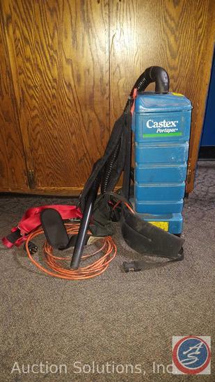 Castex PortaPac Backpack Vacuum
