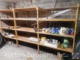Wooden Four Tier Shelving Unit 187