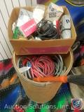 Heavy Duty Electric Cords, Copper Pipes, Electrical Boxes