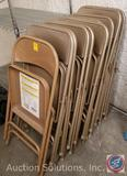 (10) Metal Folding Chairs